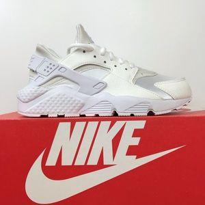 """Nike Women's Air Huarache Run """"Triple White"""""""